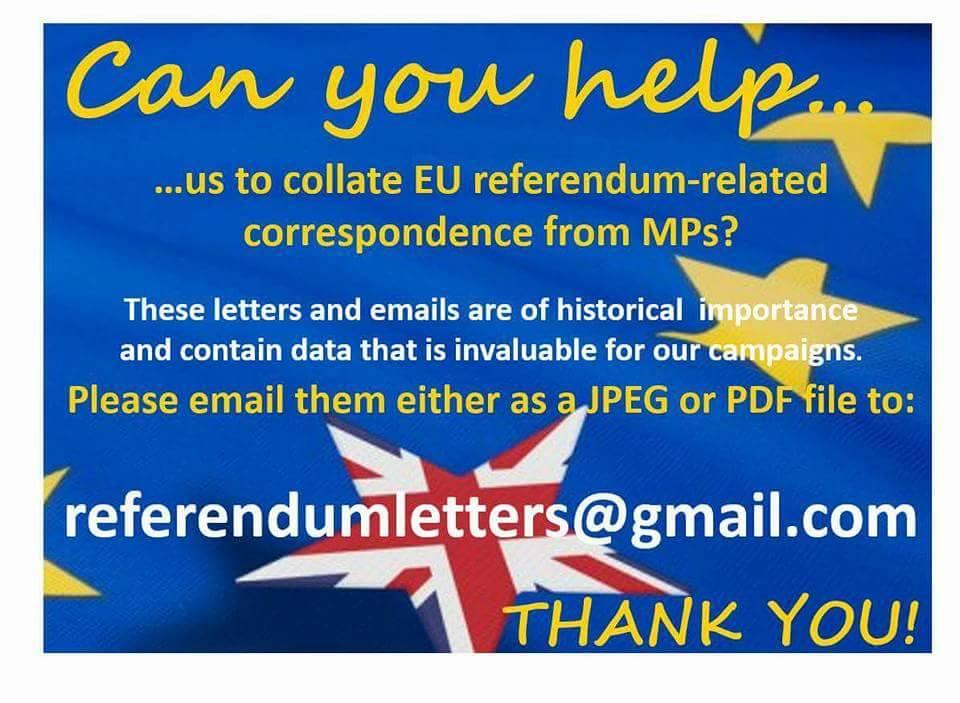Referendum Letters