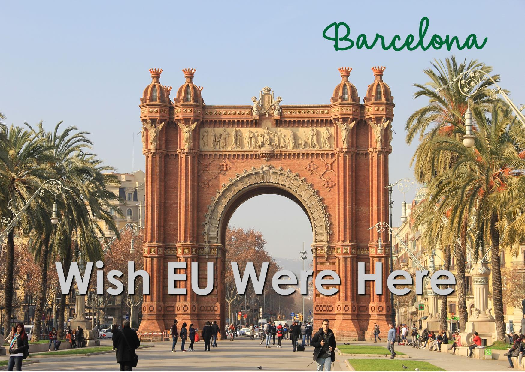 Postcard Barcelona