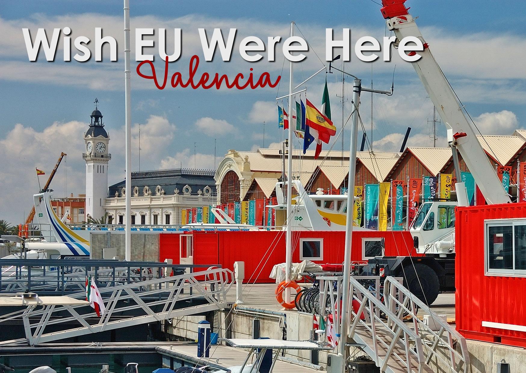 Postcard Valencia