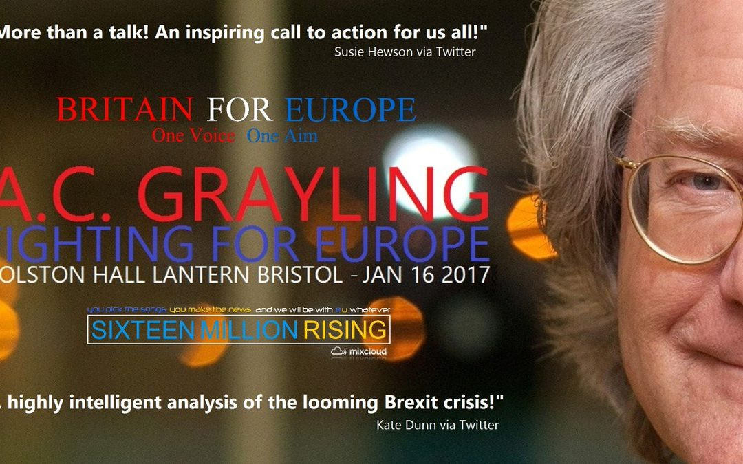 A.C. Grayling – Fighting for Europe
