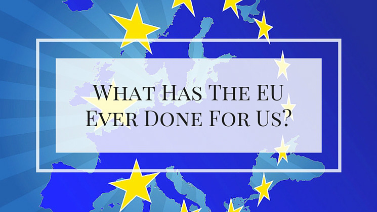 What has the EU ever done for us all?