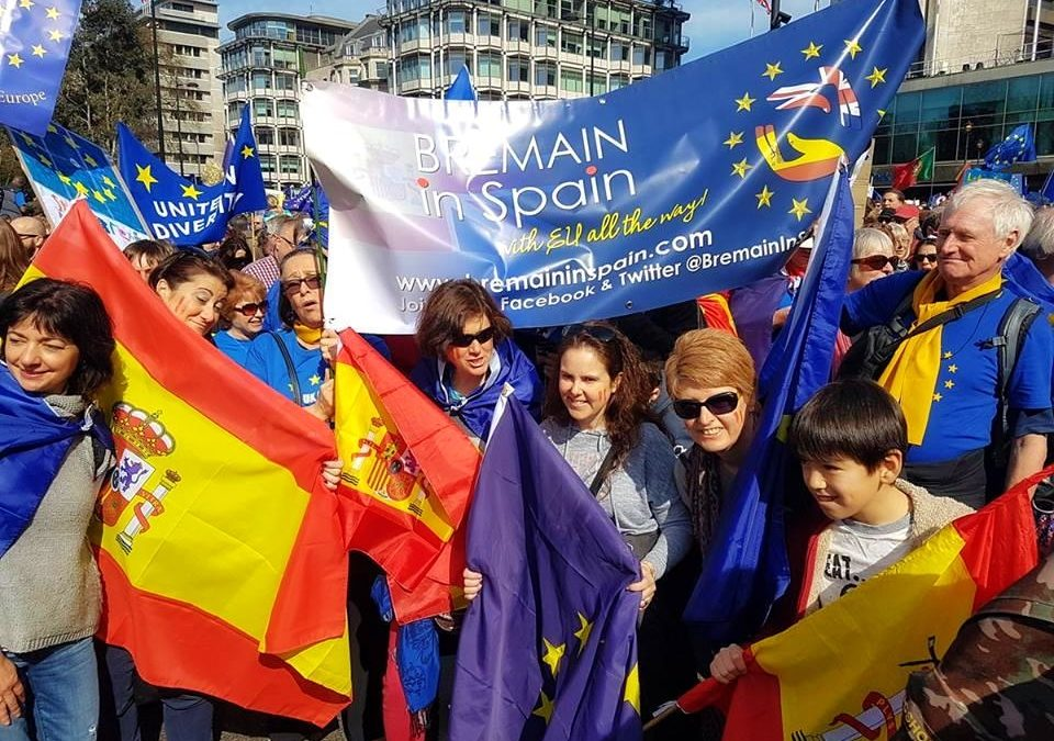 Bremain at Unite for Europe march – 25th March 2017