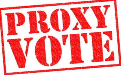 Voting by Proxy