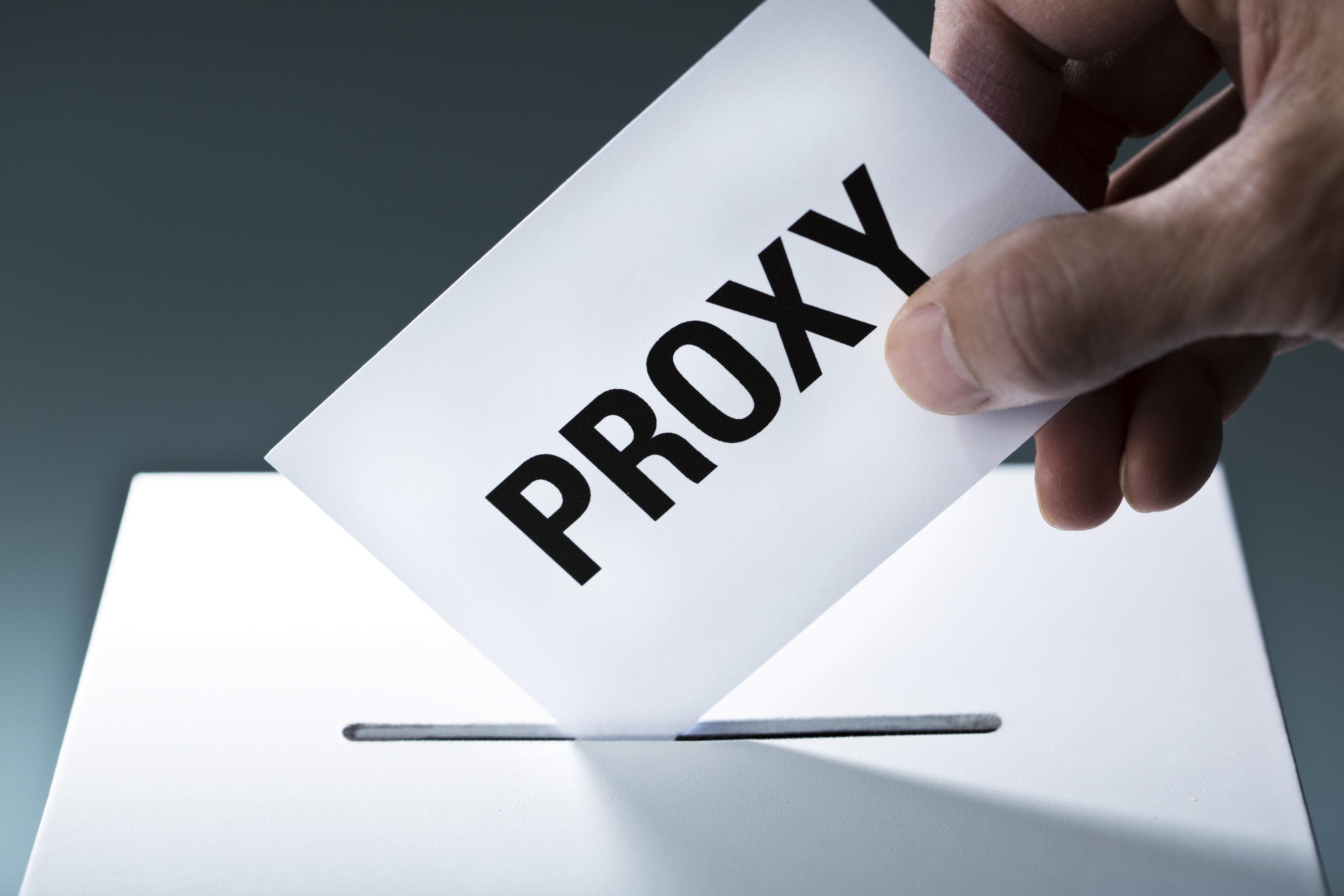 Proxy Vote