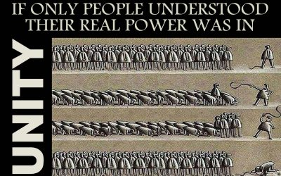 If only people understood their power ….