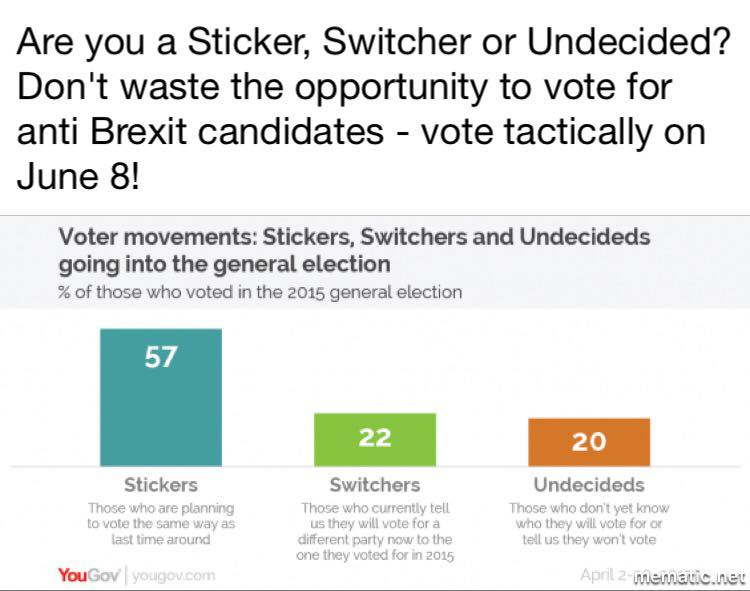 Are You a Sticker, Switcher or Undecided?