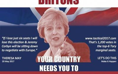 Your Country needs YOU – Vote Tactically