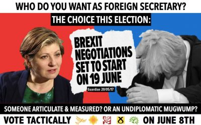 Who do you want as Foreign Secretary?