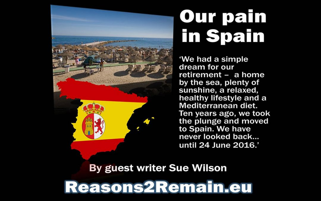 Our Pain in Spain