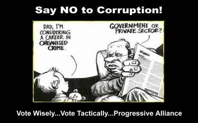Say NO to Corruption – Vote Wisely!