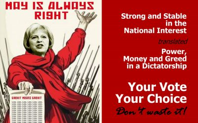 Is May is Always Right? Your Vote – Your Choice