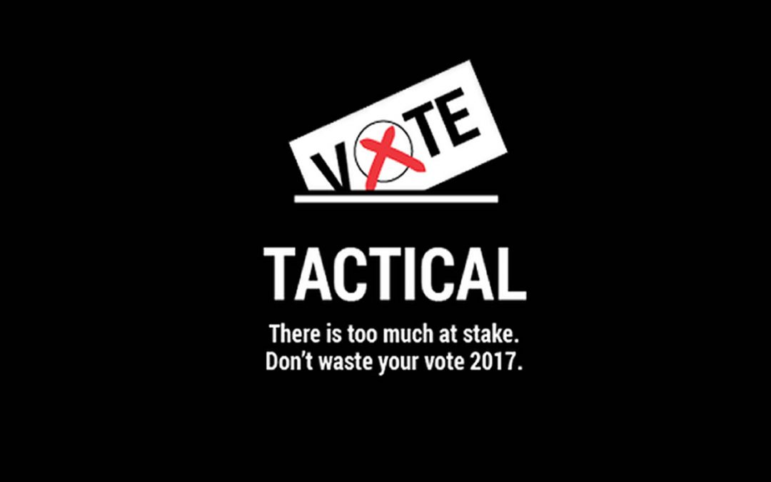 Vote Tactically June 8th