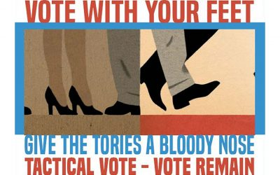 Vote with your Feet – Vote Remain on June 8th