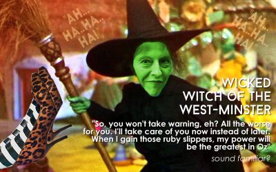 Wicked Witch of the West-minster