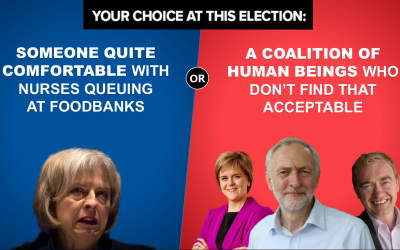 Your Choice at this Election – What will it be?