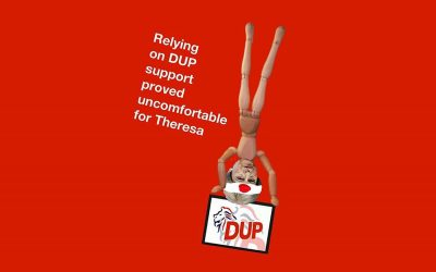 Uncomfortable Tories relying on DUP support
