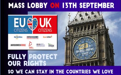 Mass Lobby to UK Parliament 13 September 2017