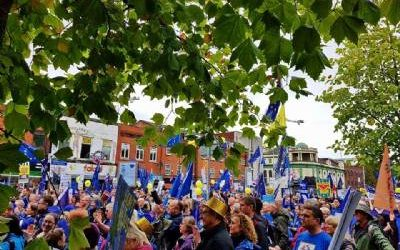 Bremain in Spain marches against Brexit in Manchester
