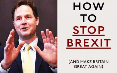 """How to Stop Brexit' by Nick Clegg"