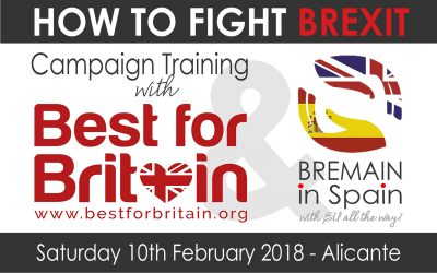 How to Fight Brexit: Practical Campaigning Training