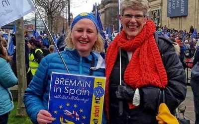 Bremain at The Great Northern March #StopBrexit Leeds