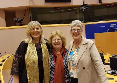Debbie Williams, Jean Lambert MEP and Sue