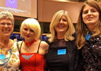 Sue, Madeleina Kay, Debbie and Molly Williams Brexpats-Hear our Voice