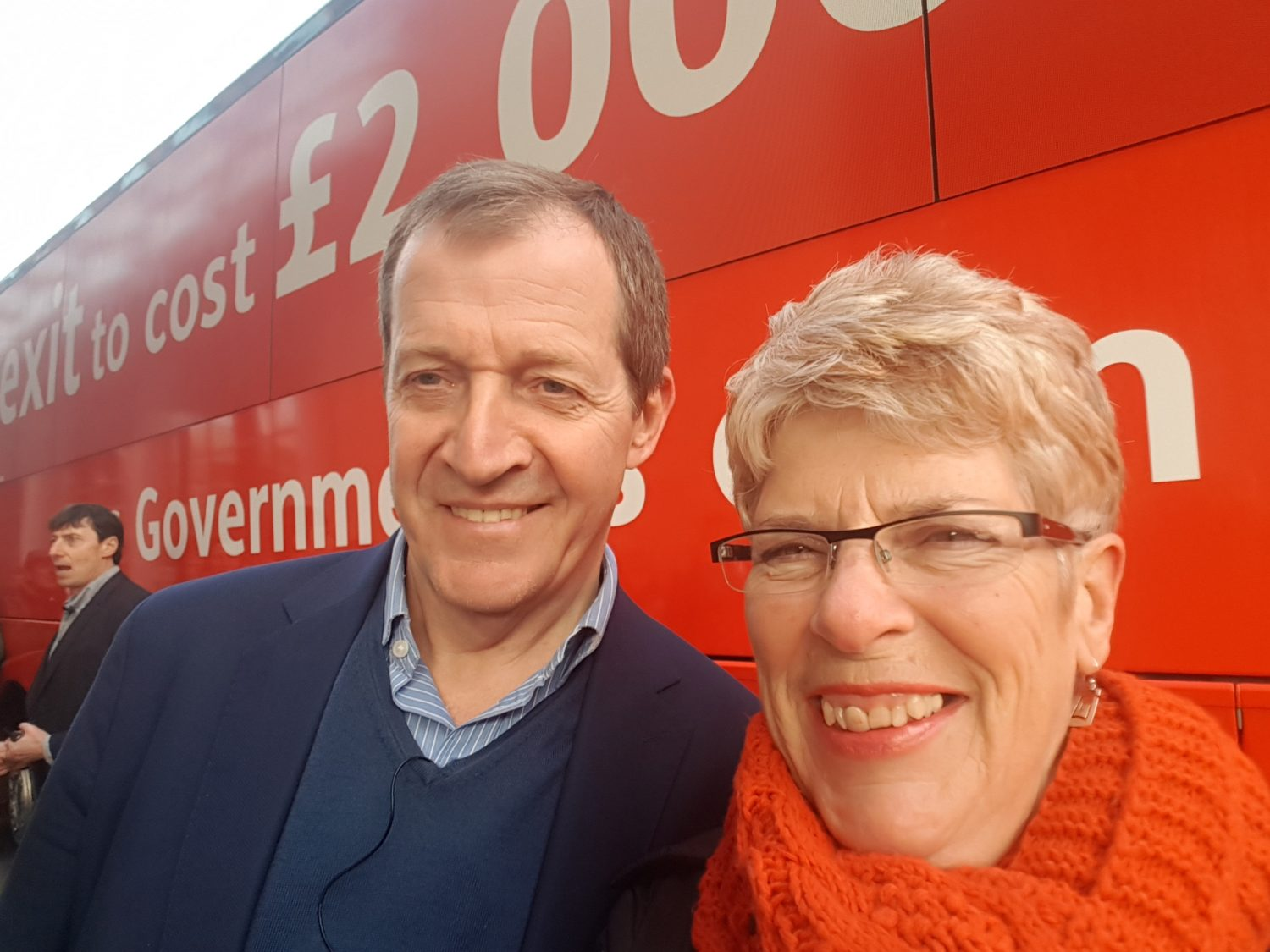 Sue and Alistair Campbell