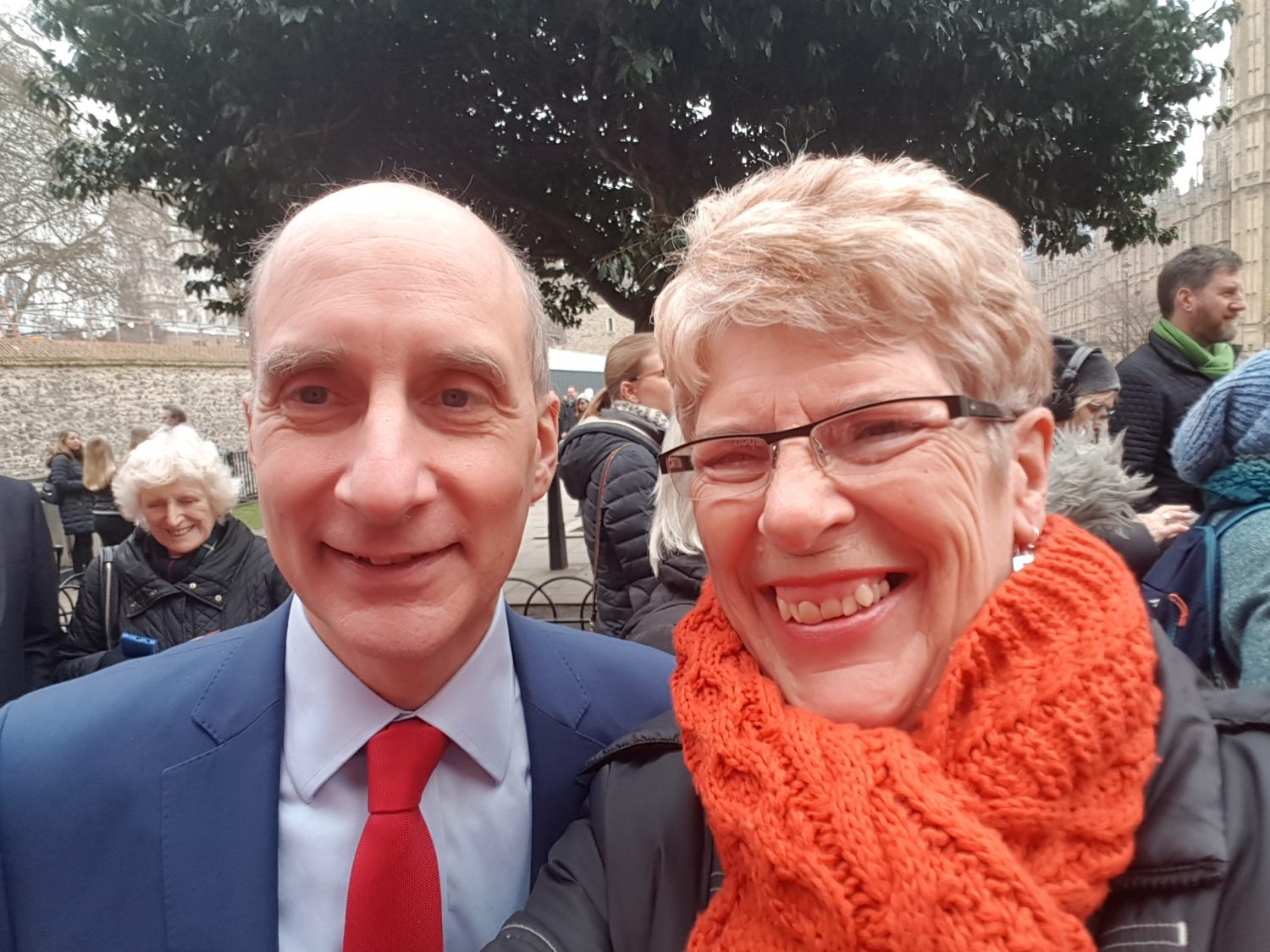 Sue and Lord Adonis