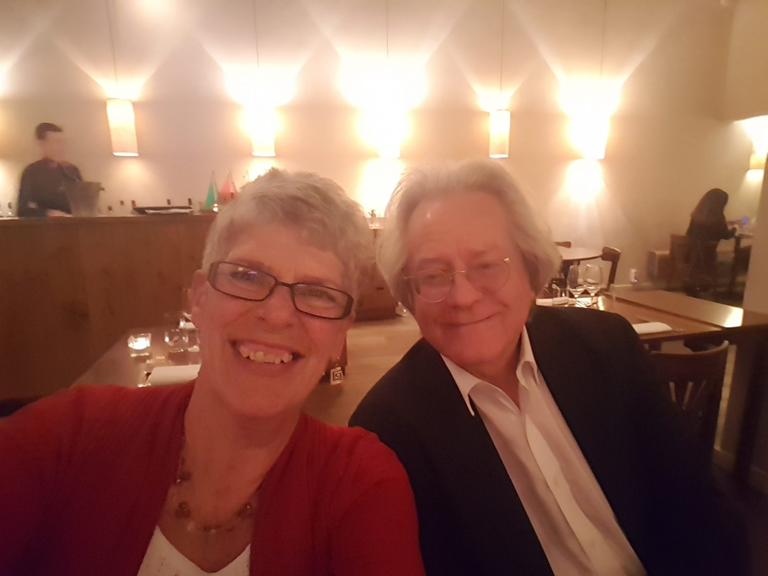 Sue and A C Grayling