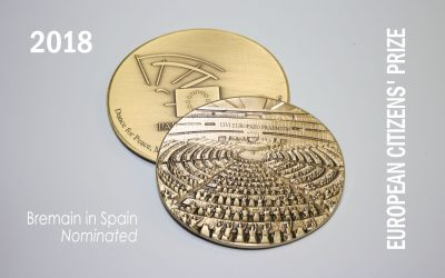 Bremain in Spain Nominated for The European Citizens' Prize 2018