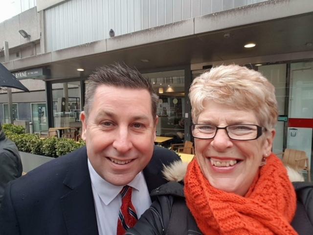 Sue and Stephen Cowan