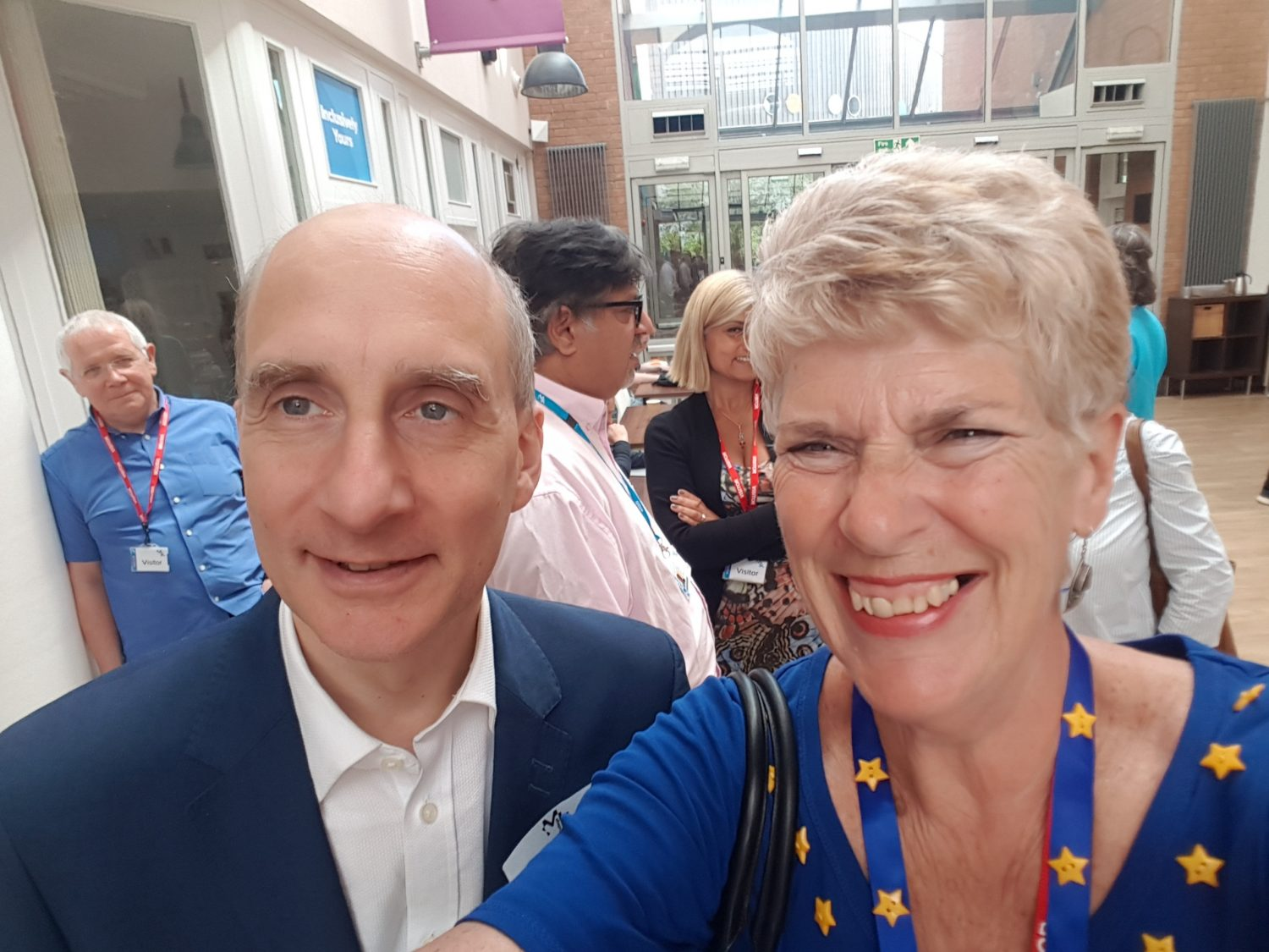 Lord Adonis at European Movement event Milton Keynes College