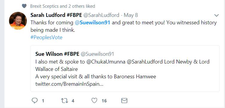 Baroness Ludford tweet