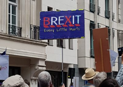 Brexit - every little hurts!