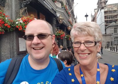 Sue and Richard Wilson from Leeds for Europe