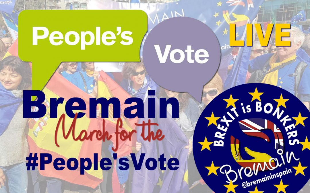 Bremainers Join the March for a People's Vote
