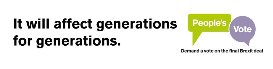 Peoples Vote Generations