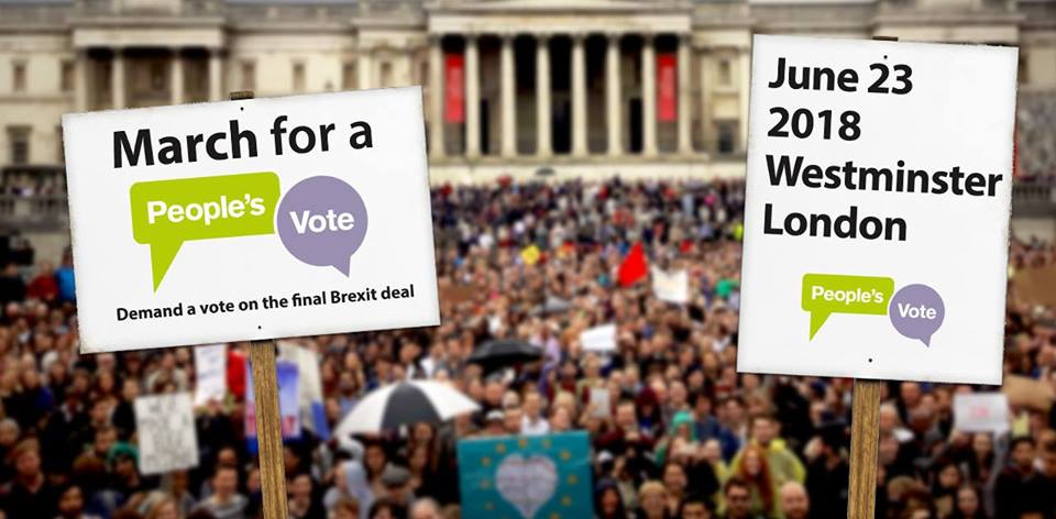 Peoples Vote March 23 June