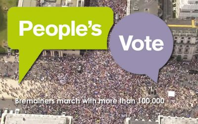 A Photo Journey Through the March for a People's Vote with Bremain