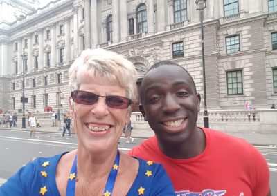 Sue and Femi from OFOC