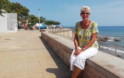 """Sue Wilson, la británica que desafía a May desde Alcossebre: """"Habrá otro referéndum"""""""