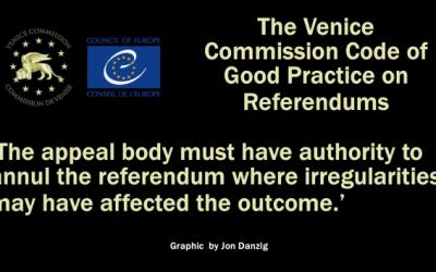 Jon Danzig's World – EU referendum broke code of good practice