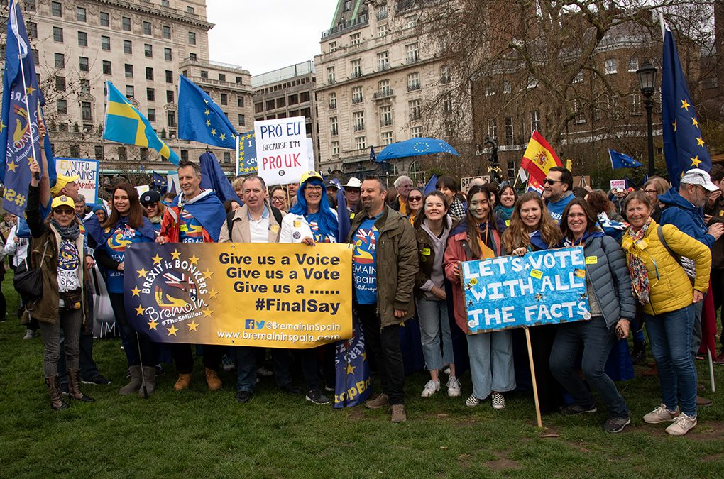 Sue Wilson Writes: Why we Britons in Spain had to march for a People's Vote