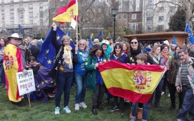 Llevo 20 años en Málaga y no pude votar contra el 'Brexit', por eso he venido