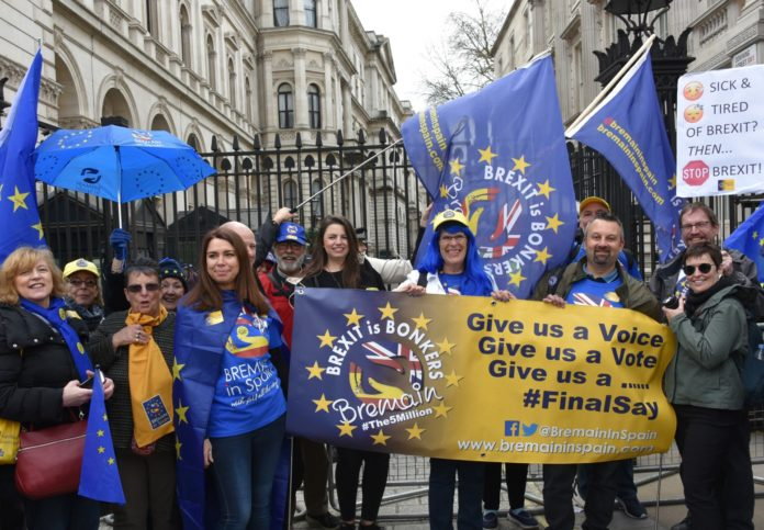 Bremain march against Brexit
