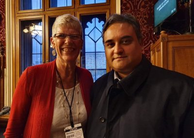 Sue and Claude Moraes MEP