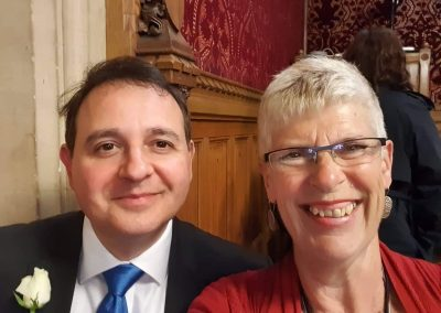 Sue and Alberto Costa MP