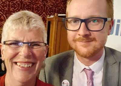 Sue and Lloyd Russell-Moyle MP