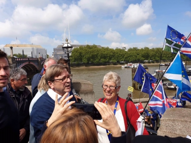 Sue and Guy Verhofstadt